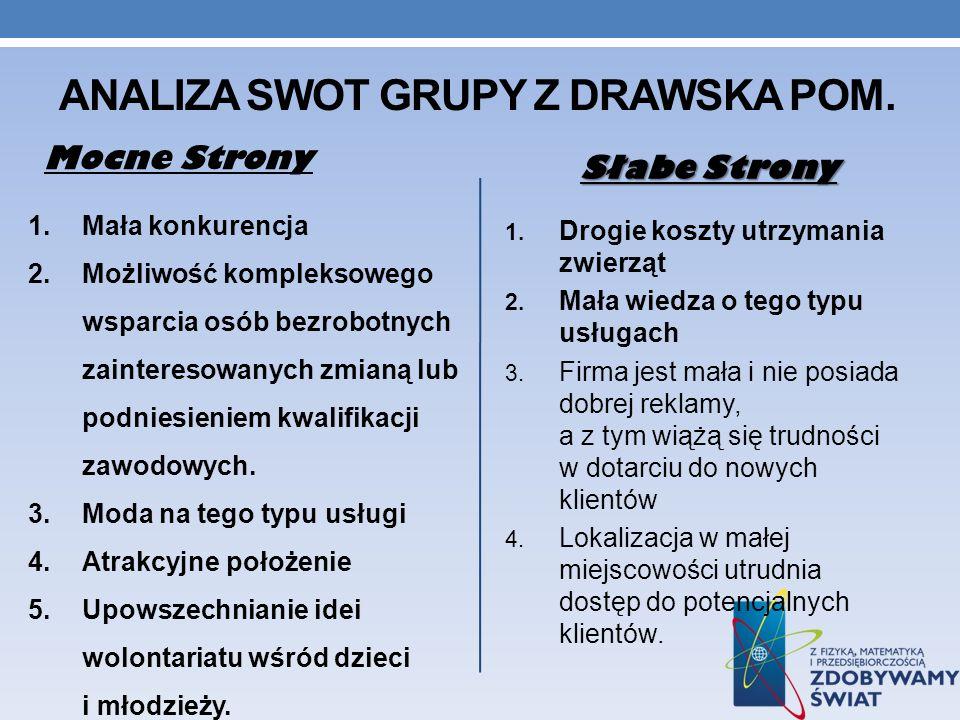 Analiza SwOT grupy z drawska pom.