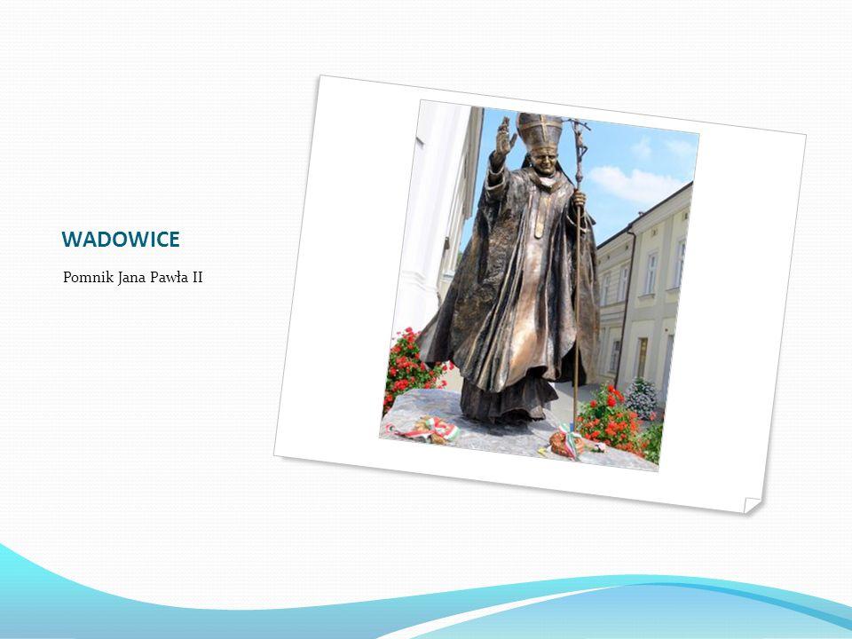 WADOWICE Pomnik Jana Pawła II
