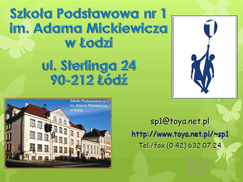 Szkoła Podstawowa nr 1 im. Adama Mickiewicza w Łodzi