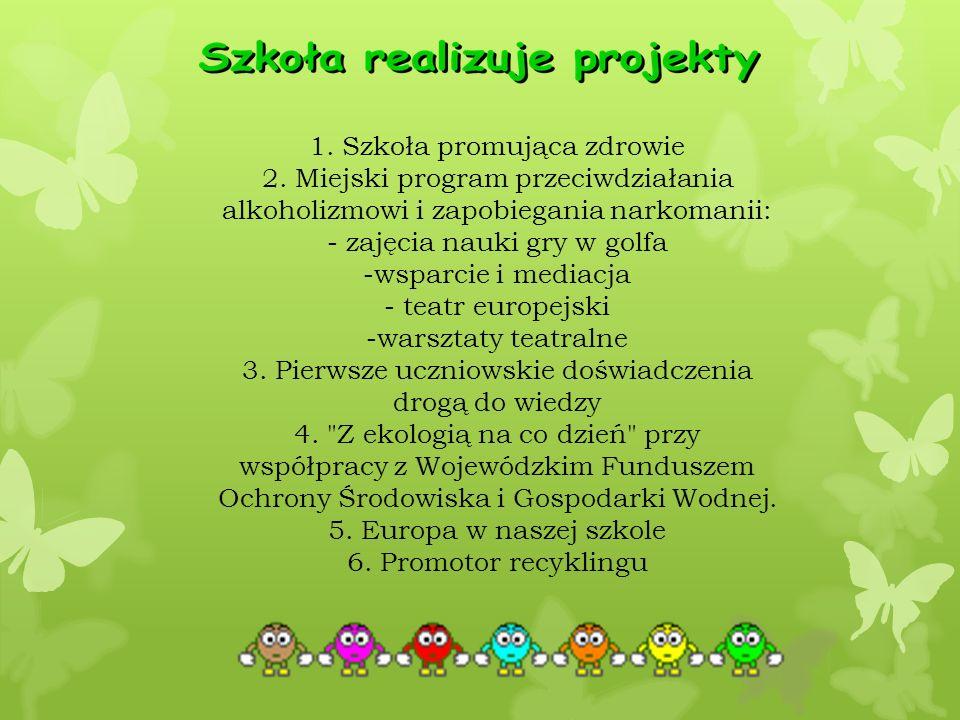 1. Szkoła promująca zdrowie