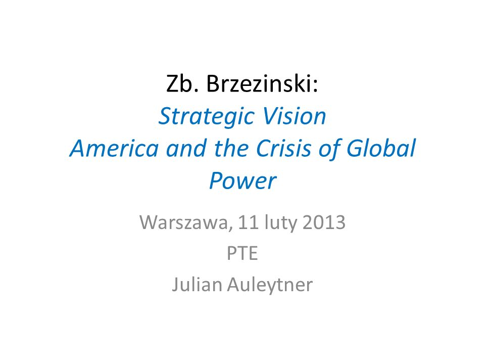 Warszawa, 11 luty 2013 PTE Julian Auleytner