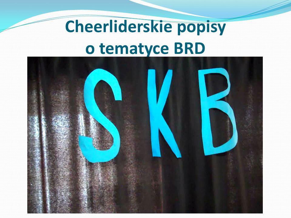 Cheerliderskie popisy o tematyce BRD