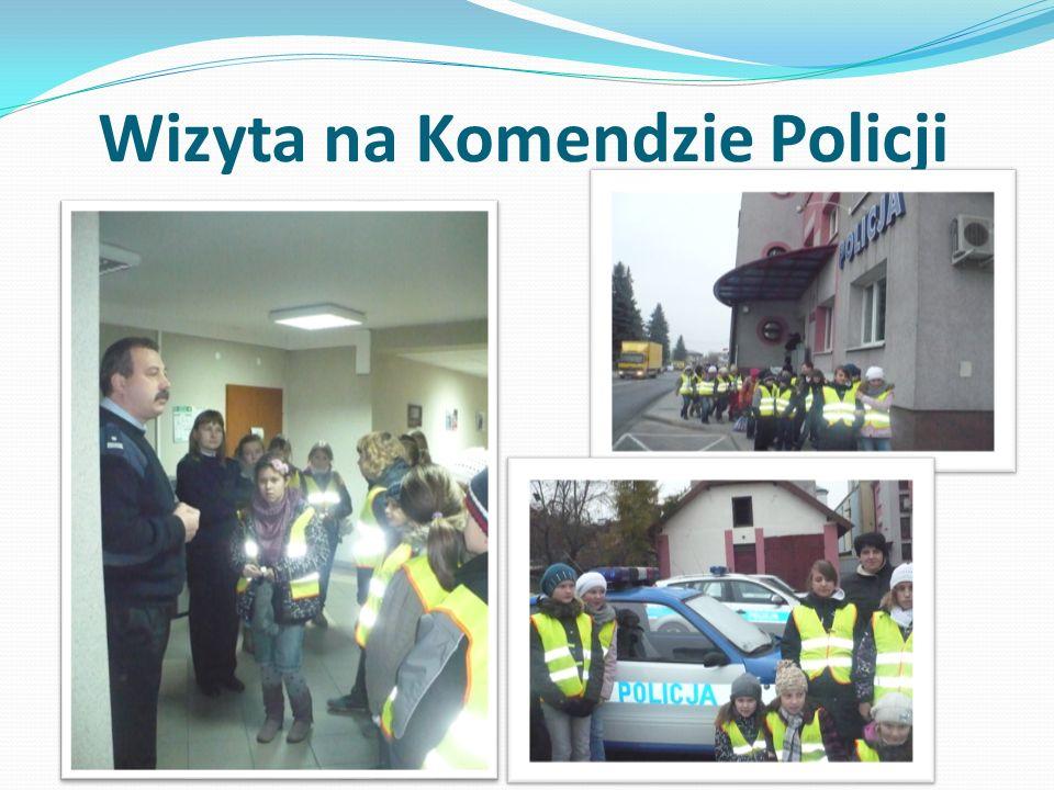 Wizyta na Komendzie Policji