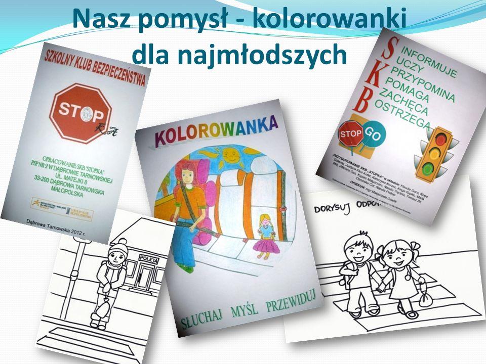 Nasz pomysł - kolorowanki dla najmłodszych