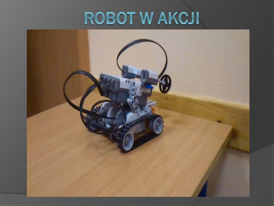 Robot w akcji