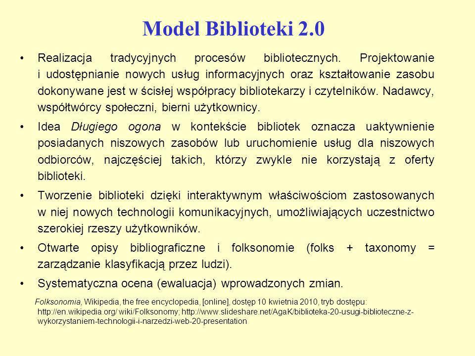 Model Biblioteki 2.0