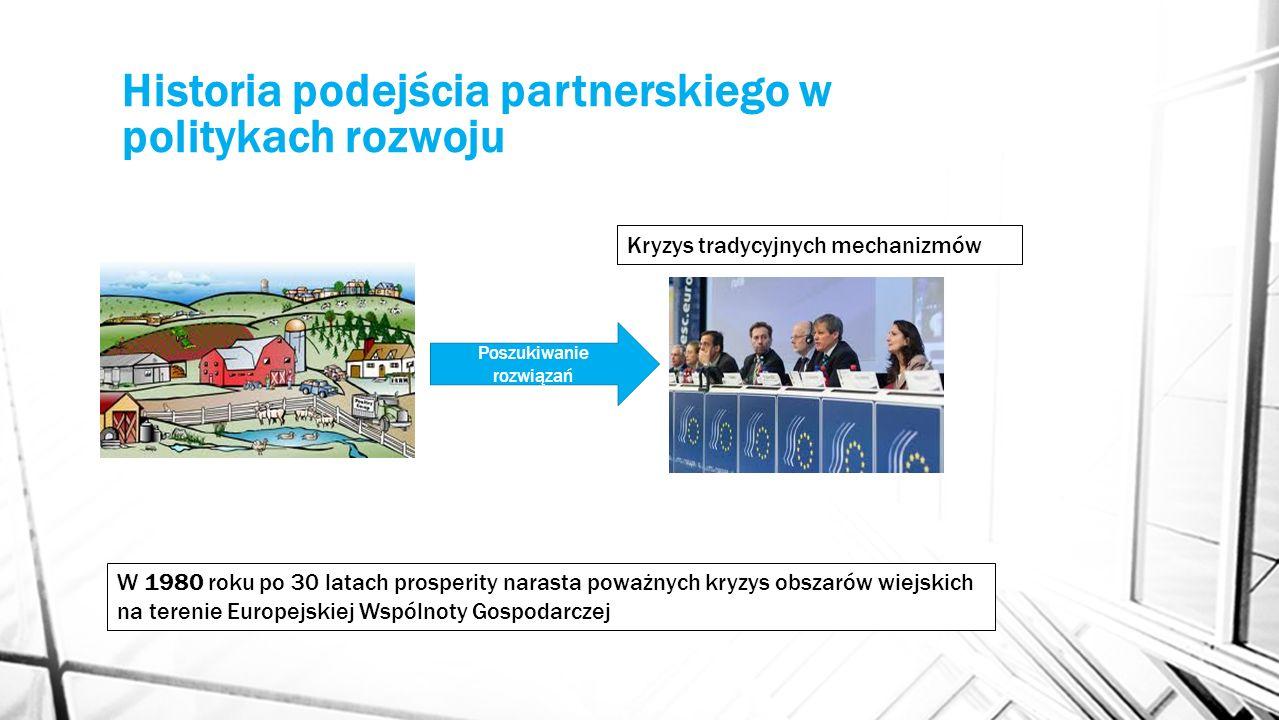 Historia podejścia partnerskiego w politykach rozwoju