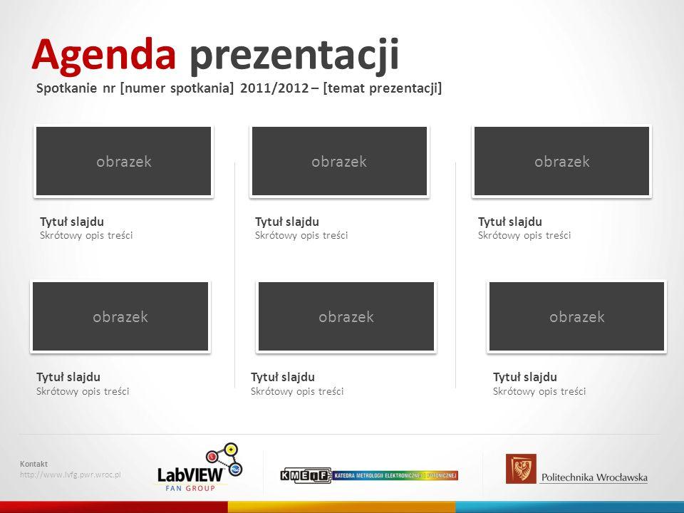 Agenda prezentacji obrazek obrazek obrazek obrazek obrazek obrazek