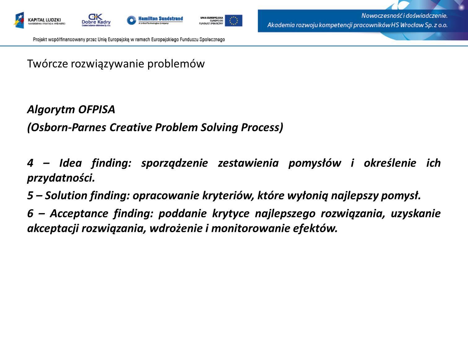 Twórcze rozwiązywanie problemów