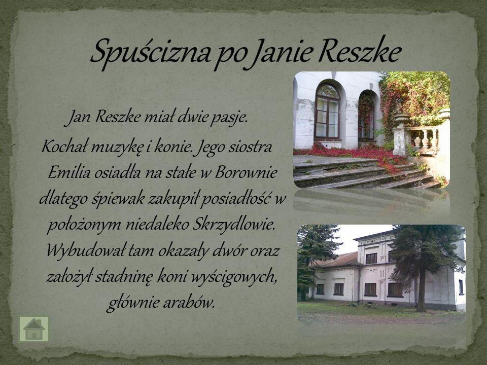 Spuścizna po Janie Reszke