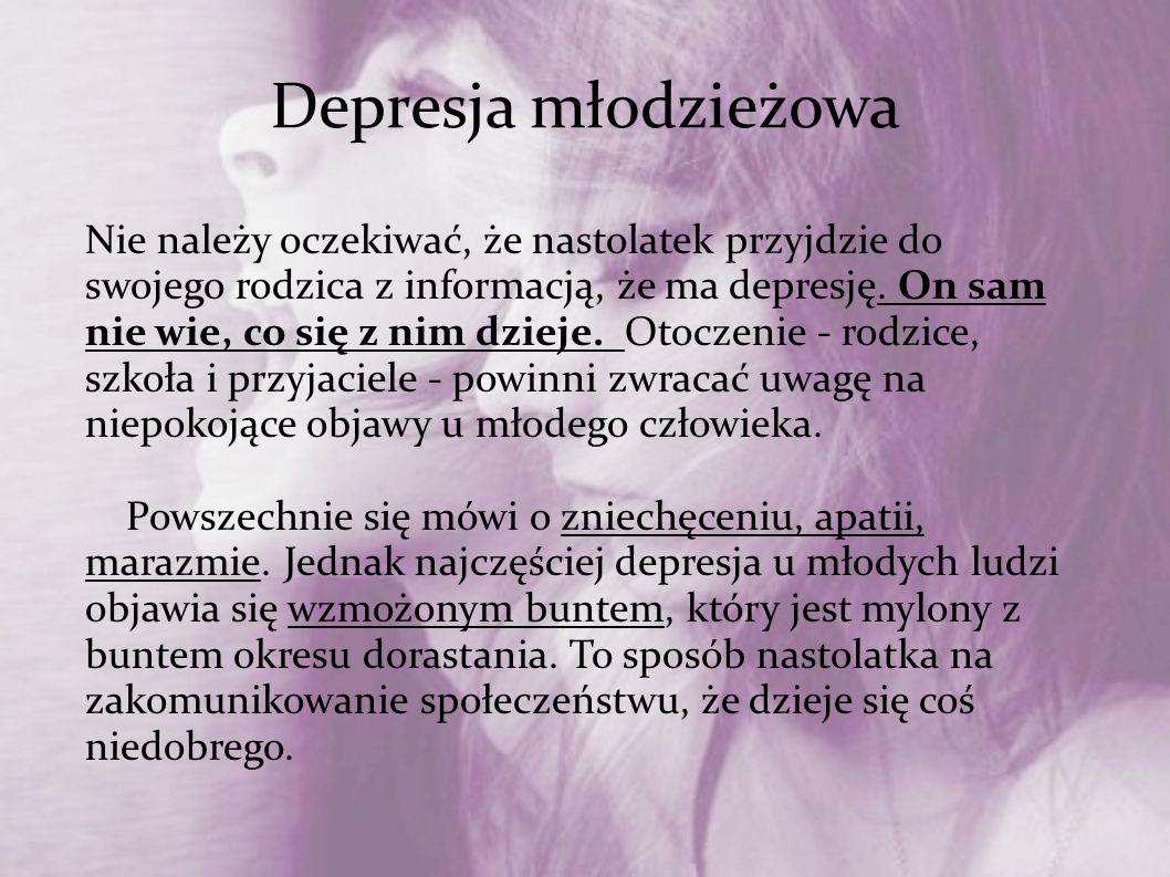 Depresja młodzieżowa
