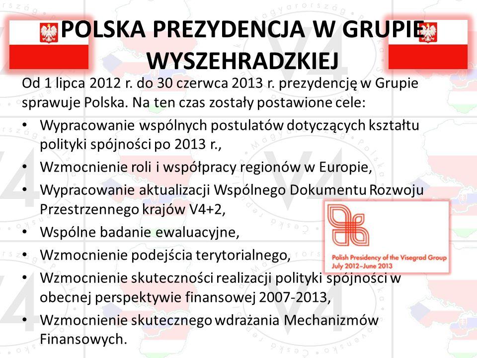 POLSKA PREZYDENCJA W GRUPIE WYSZEHRADZKIEJ