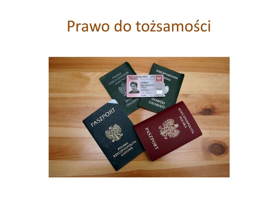 Prawo do tożsamości