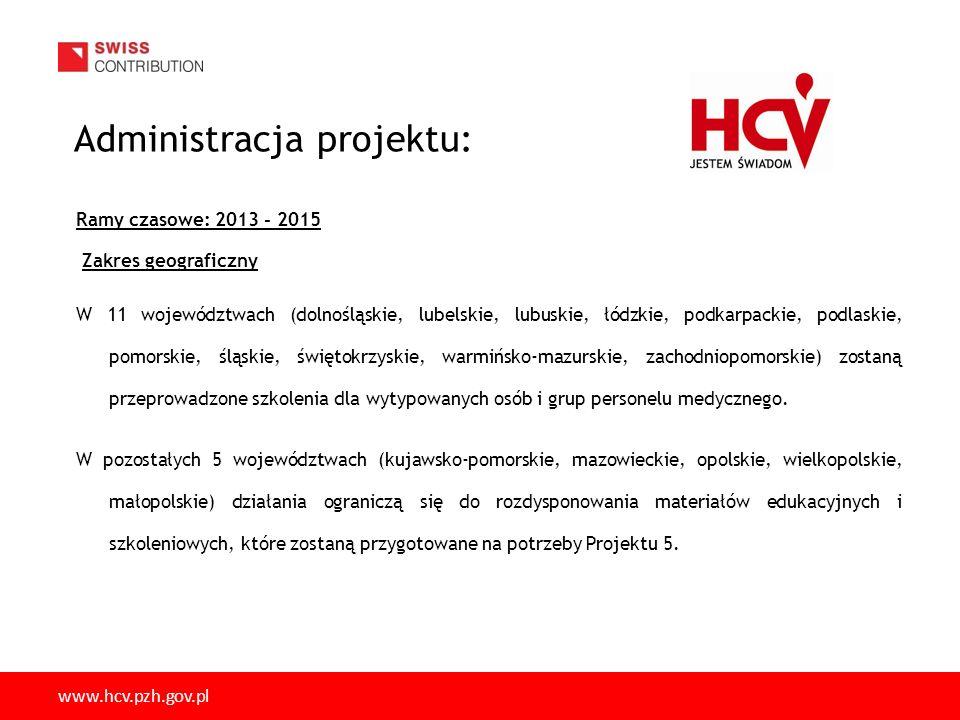Administracja projektu: