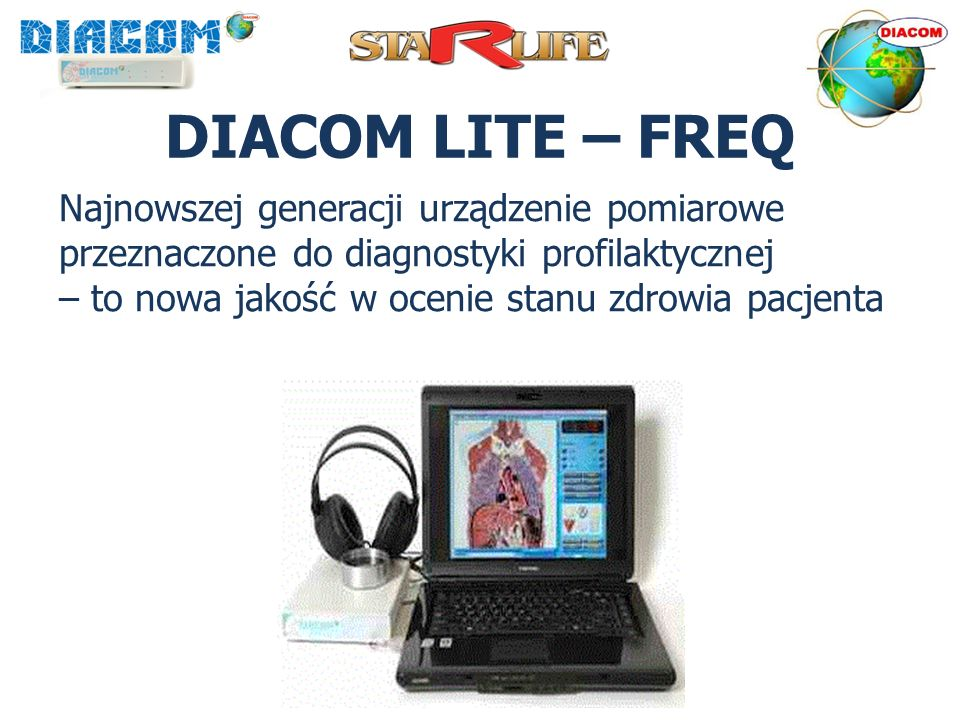 DIACOM LITE – FREQ