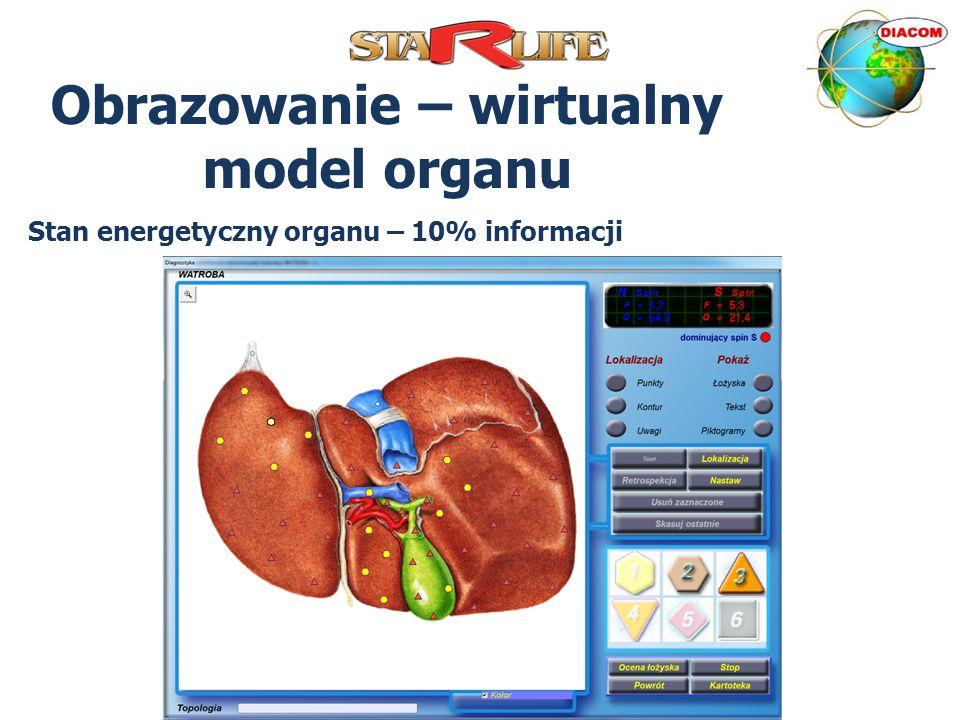 Obrazowanie – wirtualny model organu