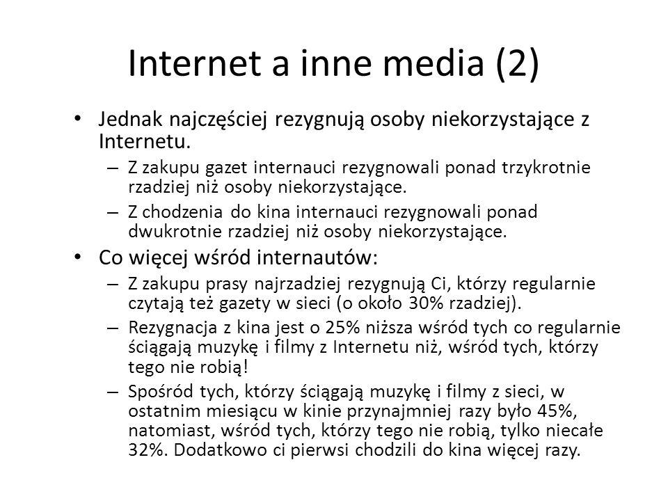 Internet a inne media (2)
