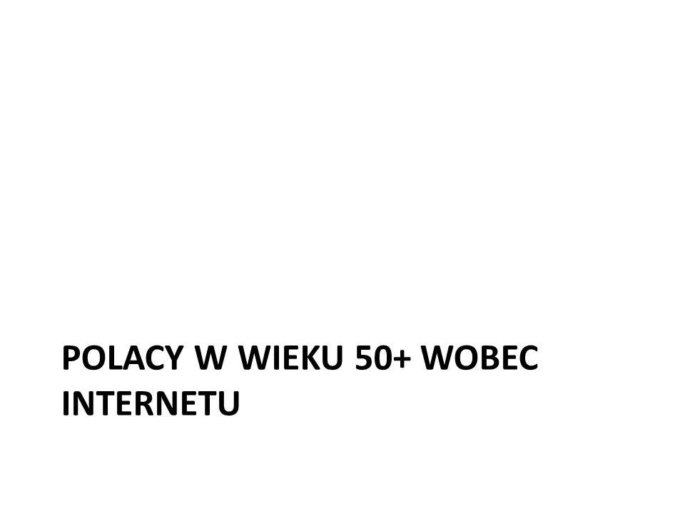 Polacy w wieku 50+ wobec internetu