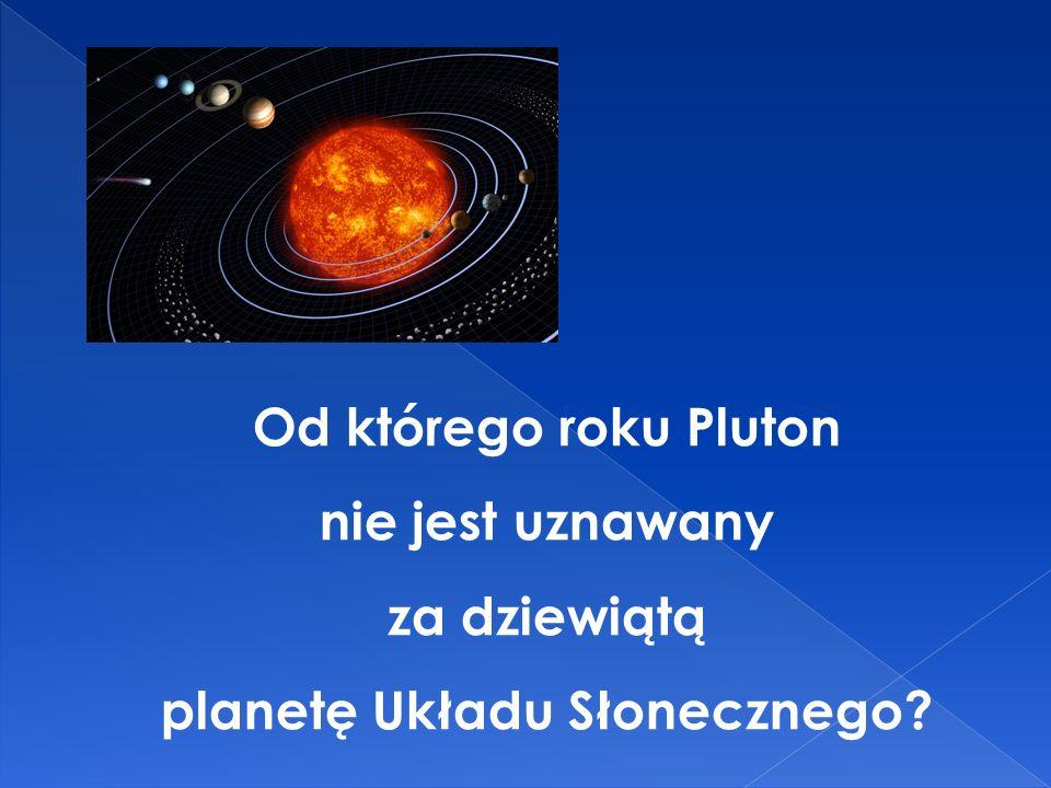planetę Układu Słonecznego