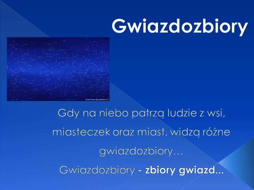Gwiazdozbiory - zbiory gwiazd...