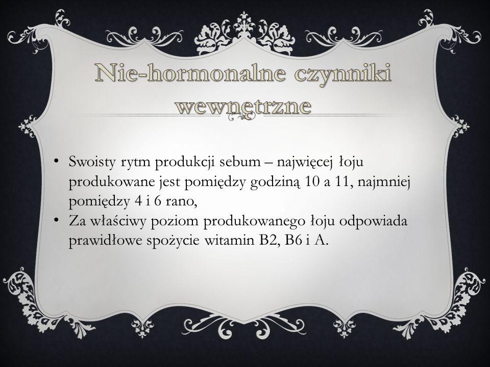Nie-hormonalne czynniki wewnętrzne