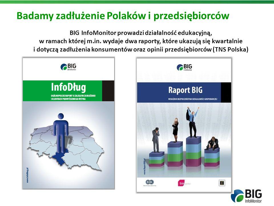 Badamy zadłużenie Polaków i przedsiębiorców