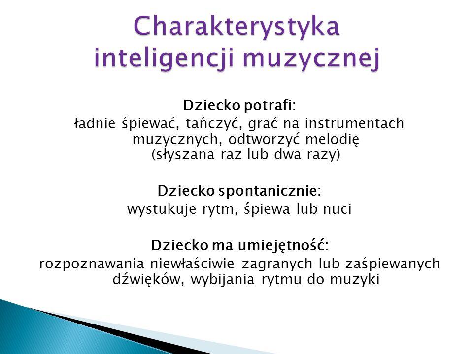 Charakterystyka inteligencji muzycznej