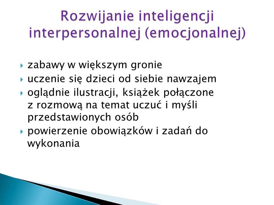 Rozwijanie inteligencji interpersonalnej (emocjonalnej)