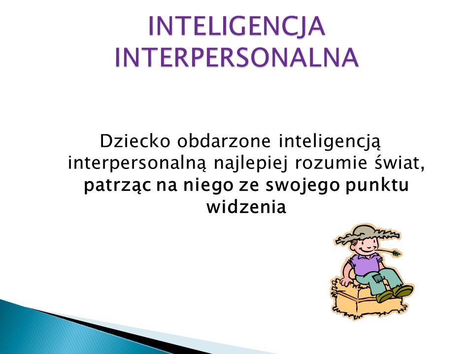 INTELIGENCJA INTERPERSONALNA