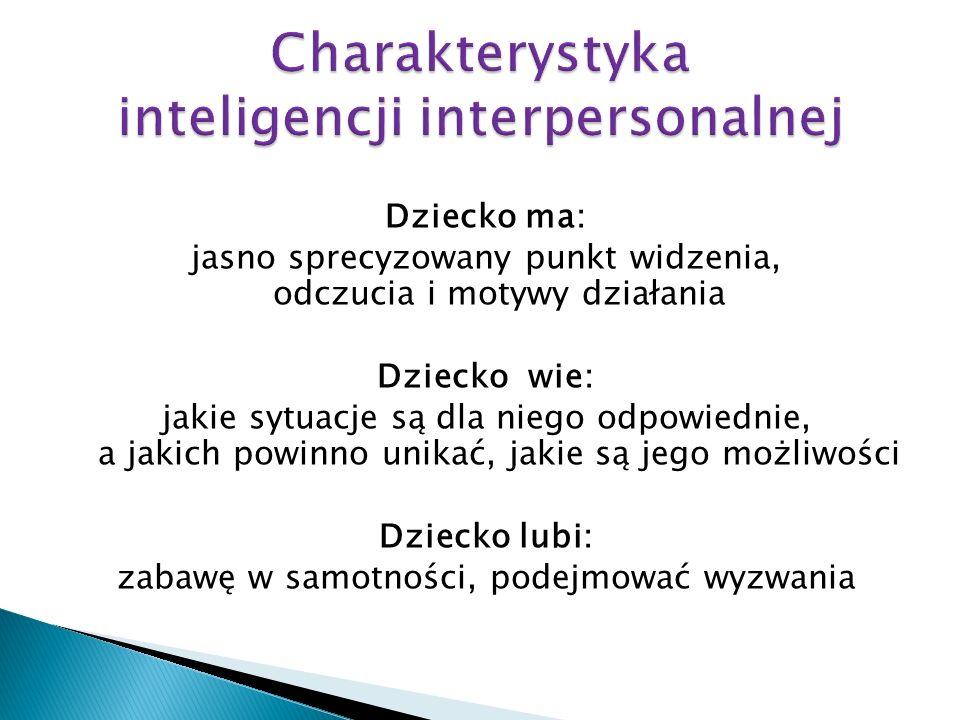 Charakterystyka inteligencji interpersonalnej