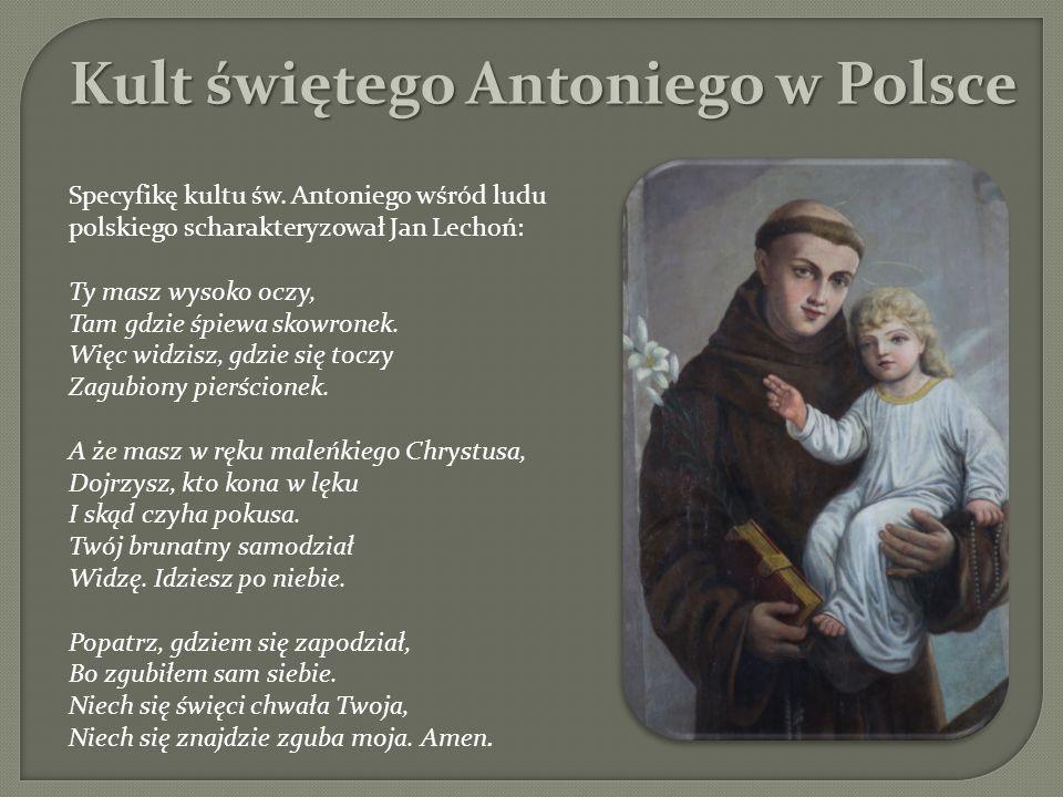 Kult świętego Antoniego w Polsce