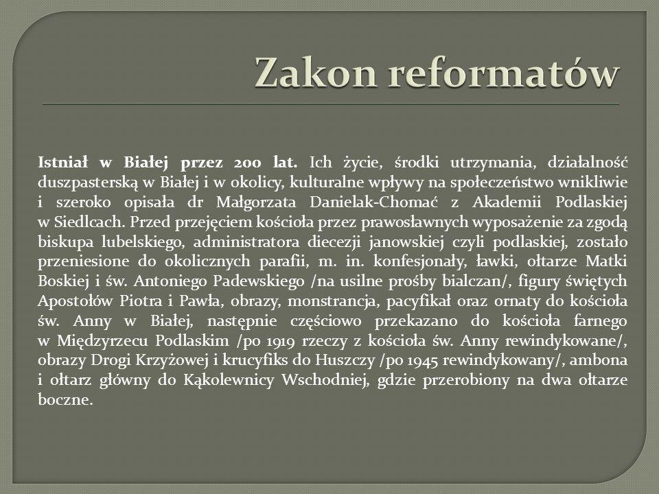 Zakon reformatów