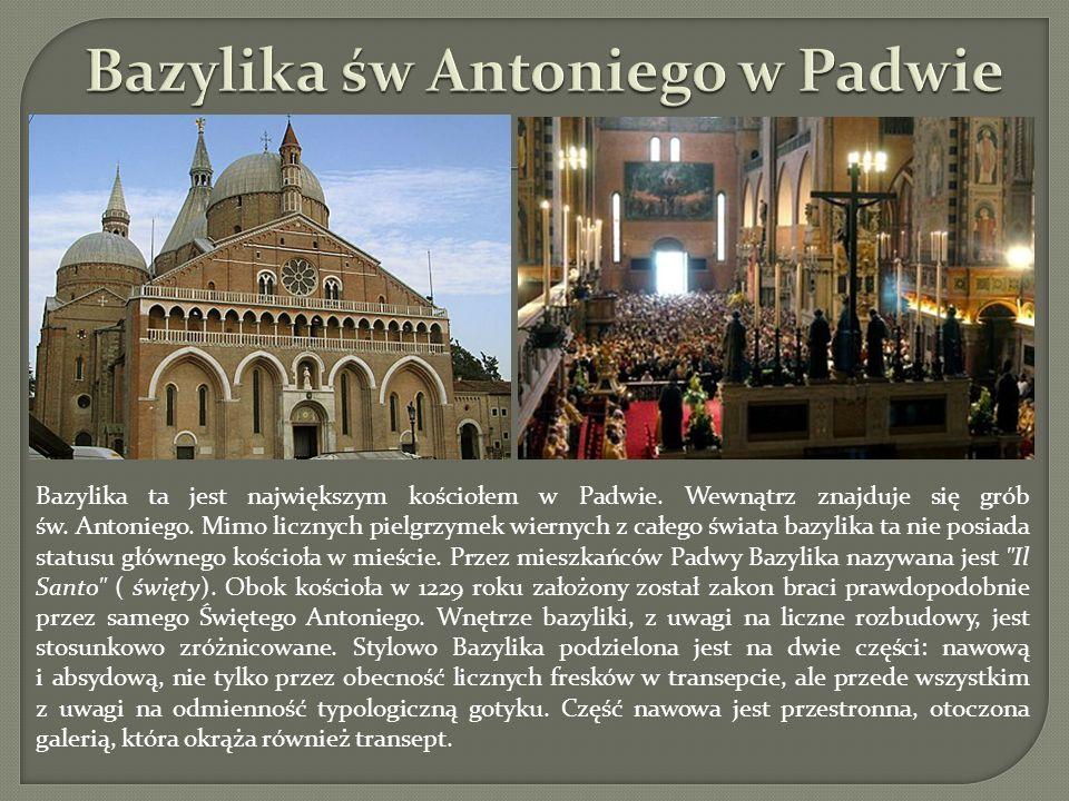 Bazylika św Antoniego w Padwie