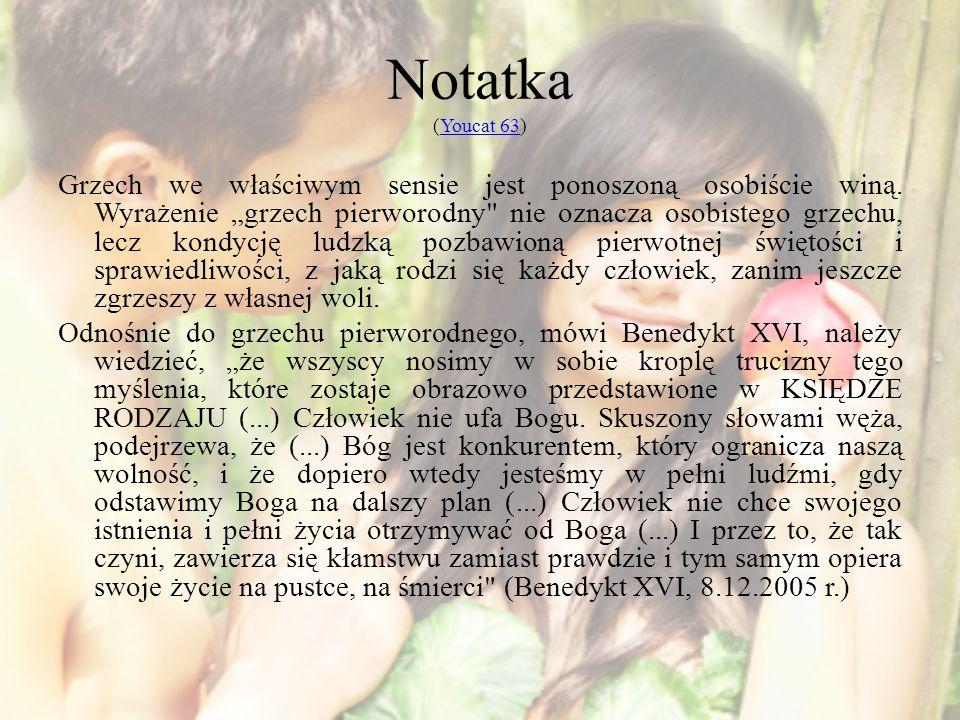 Notatka (Youcat 63)