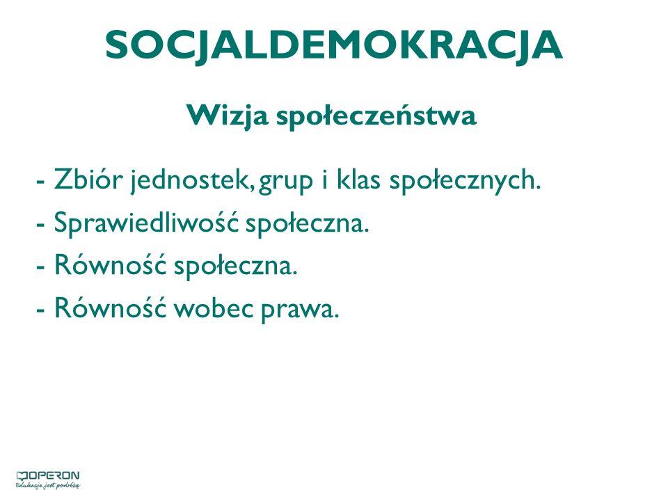 SOCJALDEMOKRACJA Wizja społeczeństwa