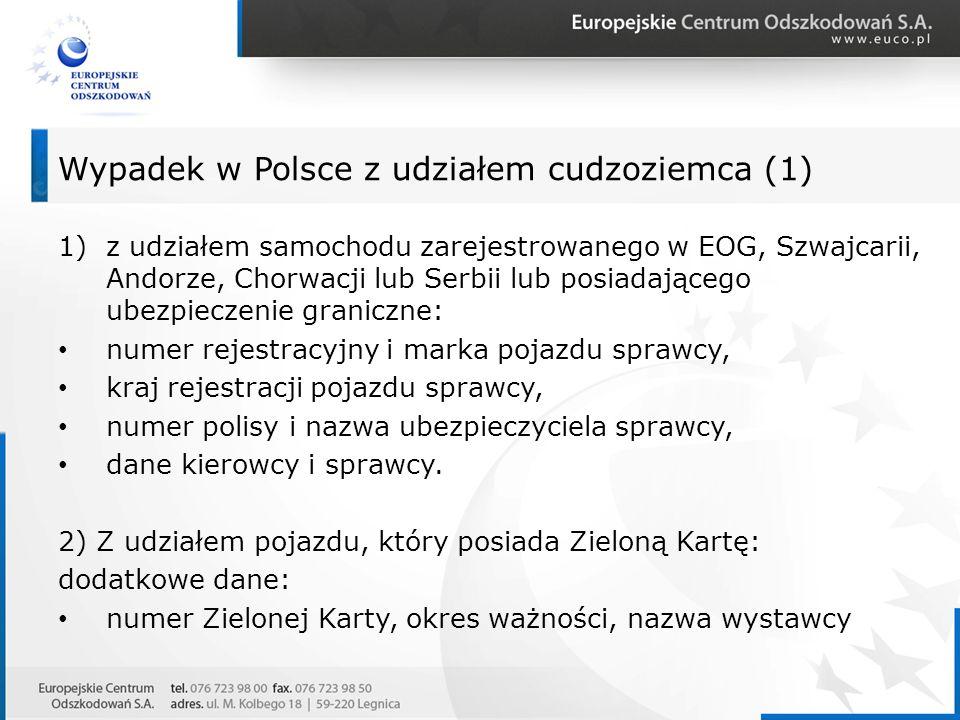 Wypadek w Polsce z udziałem cudzoziemca (1)