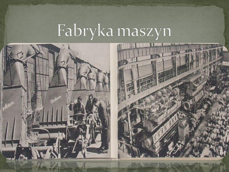 Fabryka maszyn