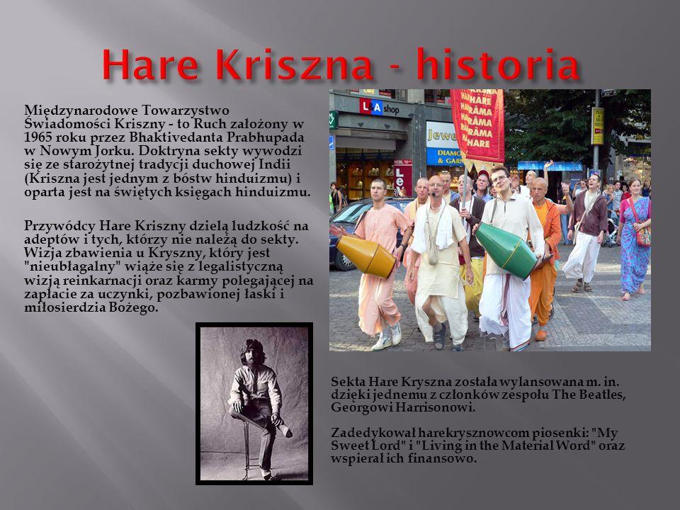 Hare Kriszna - historia