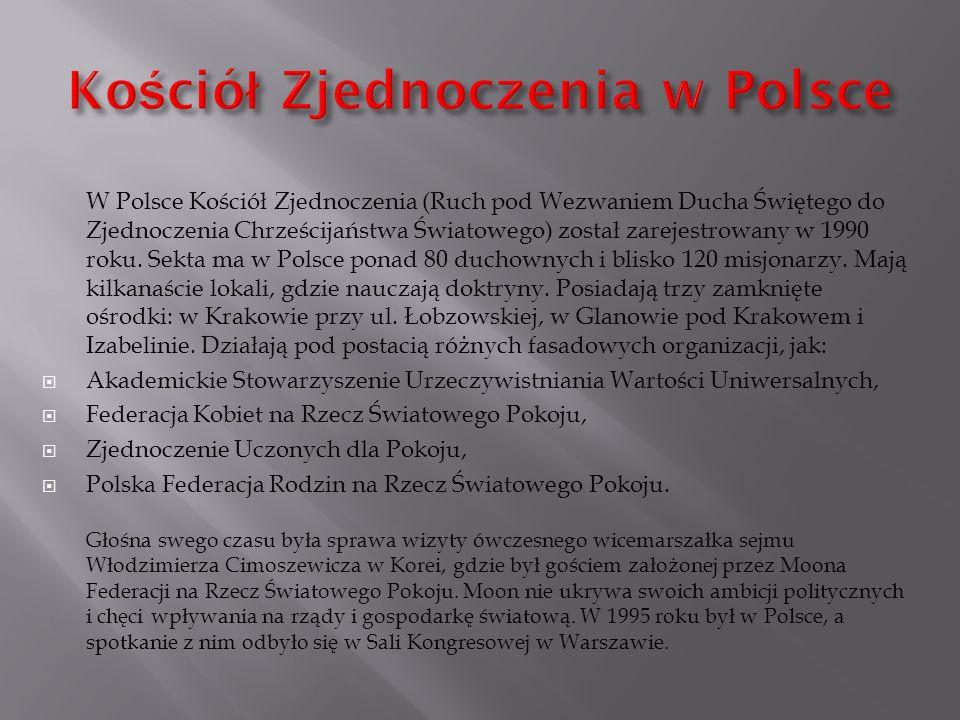 Kościół Zjednoczenia w Polsce