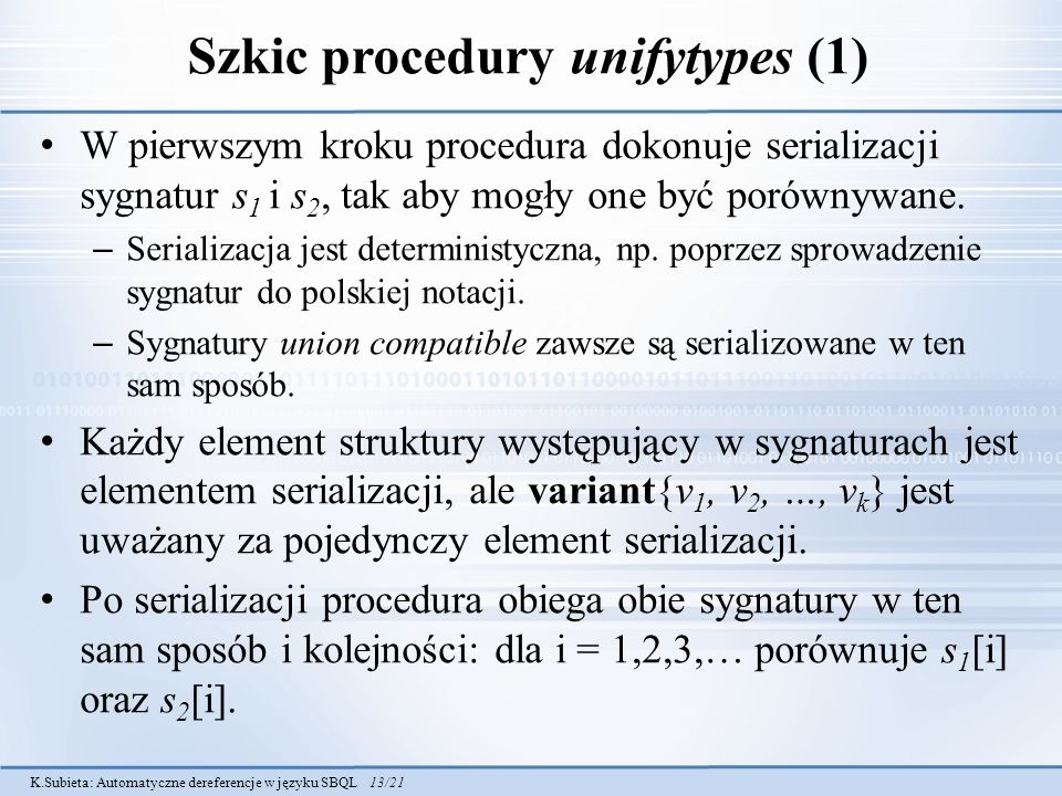 Szkic procedury unifytypes (1)
