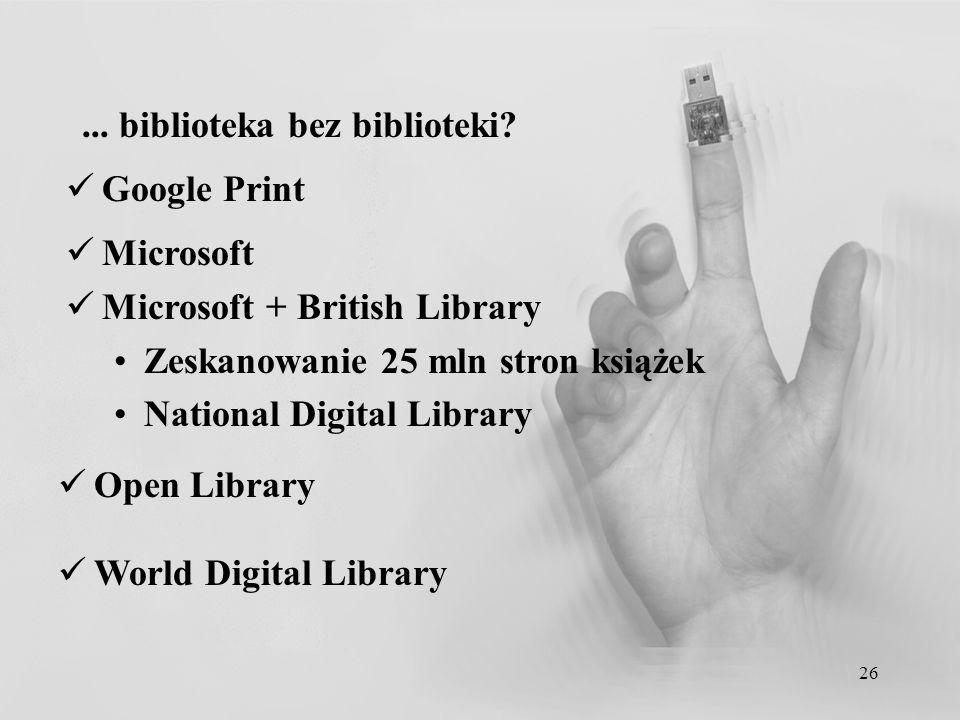 ... biblioteka bez biblioteki