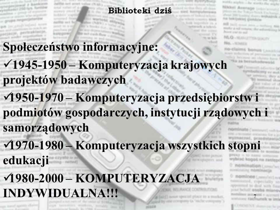 Społeczeństwo informacyjne: