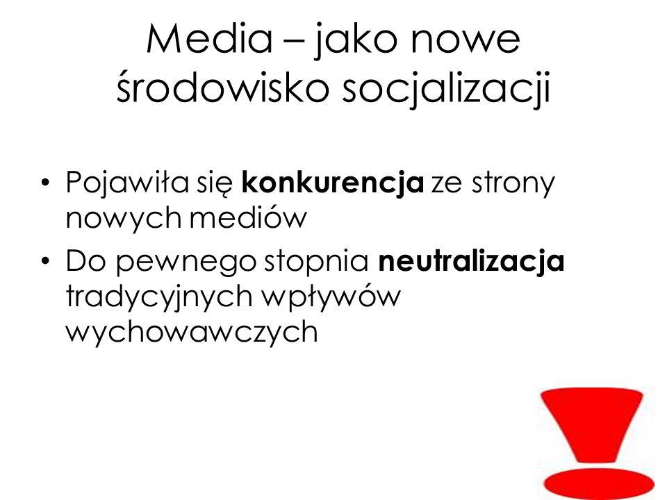 Media – jako nowe środowisko socjalizacji