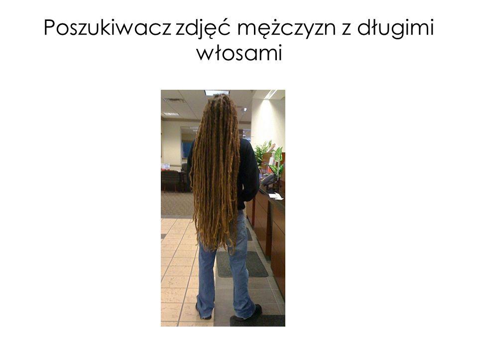 Poszukiwacz zdjęć mężczyzn z długimi włosami