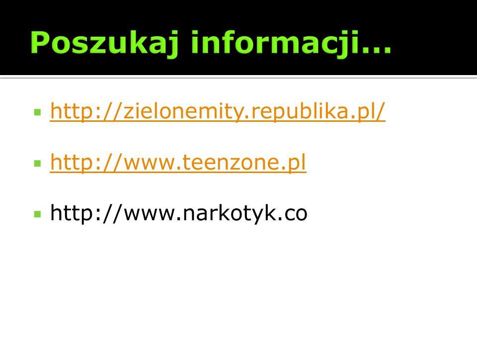 Poszukaj informacji... http://zielonemity.republika.pl/