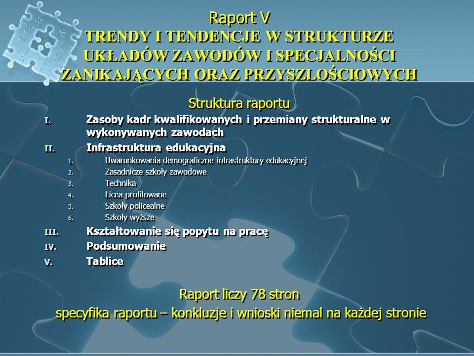 specyfika raportu – konkluzje i wnioski niemal na każdej stronie