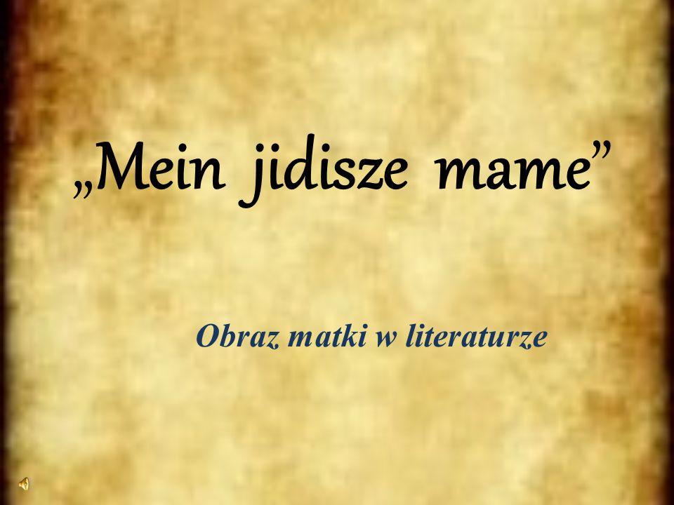 Obraz matki w literaturze