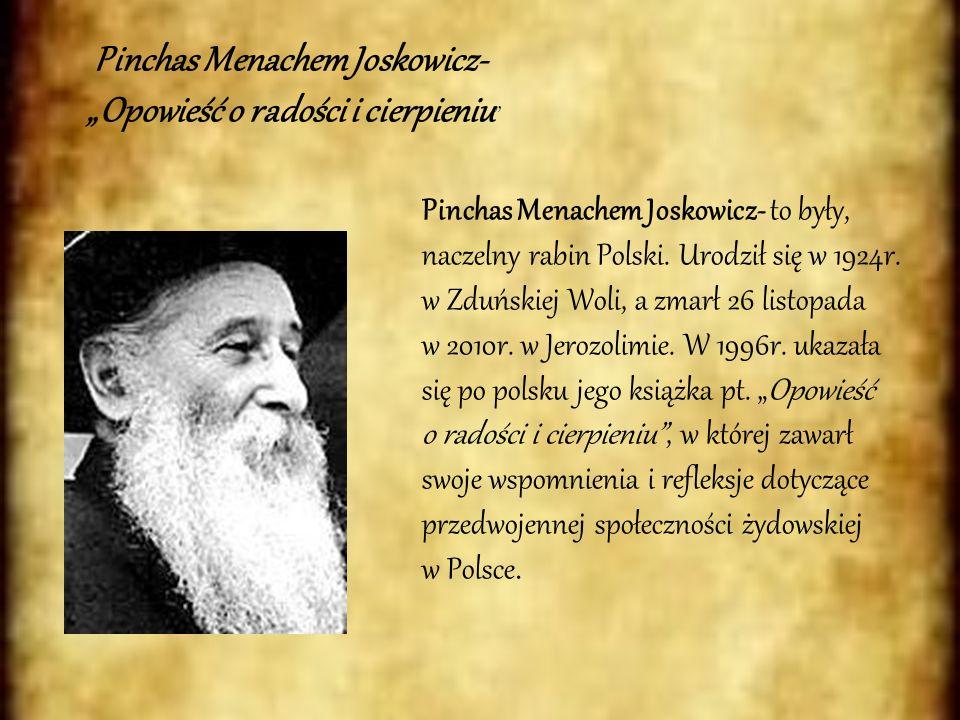 Pinchas Menachem Joskowicz-
