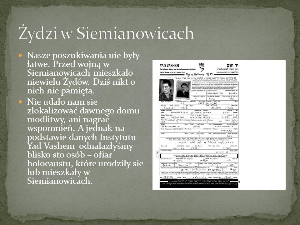 Żydzi w Siemianowicach