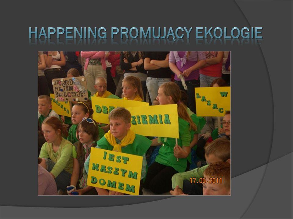 happening promujący ekologie